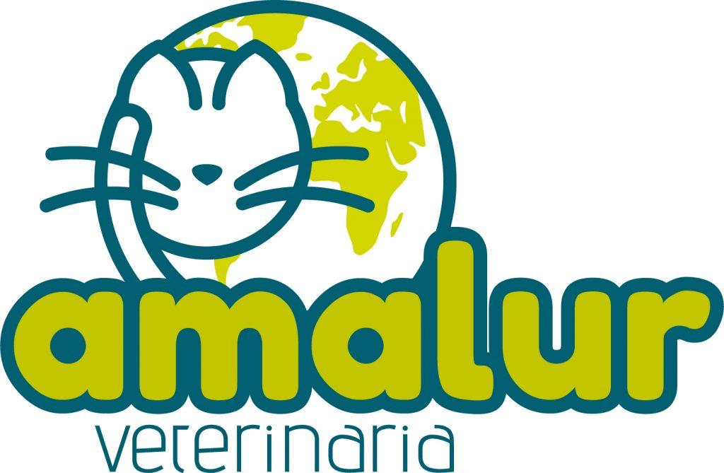 Logotipo para Amalur Veterinaria. Especialista en felinos. Logroño, La Rioja. 2018.