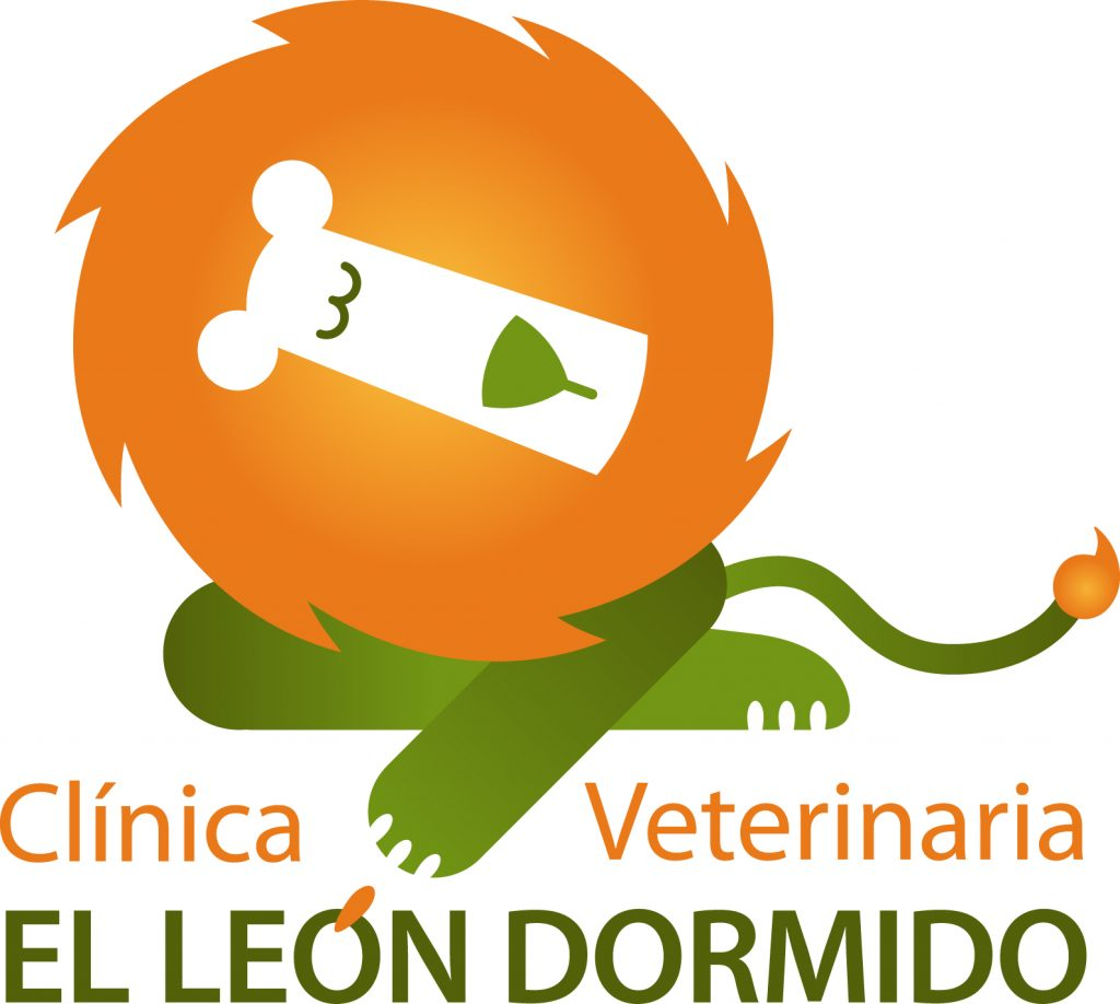 Restyling del logotipo de la Clínica Veterinaria El León Dormido. Logroño, La Rioja. 2014.