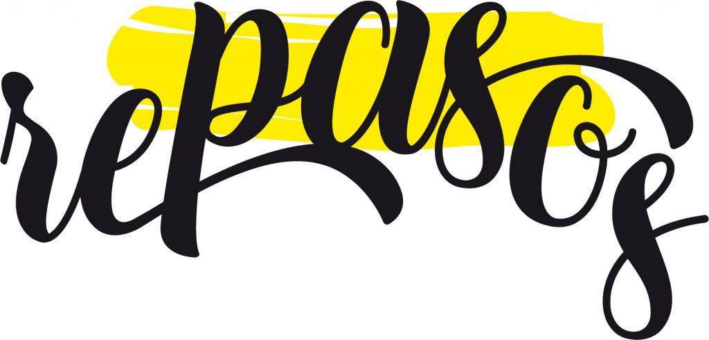 Logotipo para rePASos. Blog dirigido a Personas Altamente Sensibles (PAS). Logroño, La Rioja. 2019.