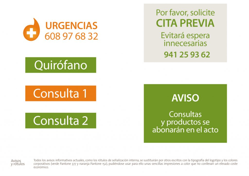 Propuesta para la implementación de la nueva imagen corporativa en el local de la Clínica Veterinaria El León Dormido.