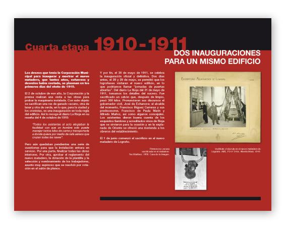 """Panel para la exposición """"De Matadero a Casa de las Ciencias"""""""