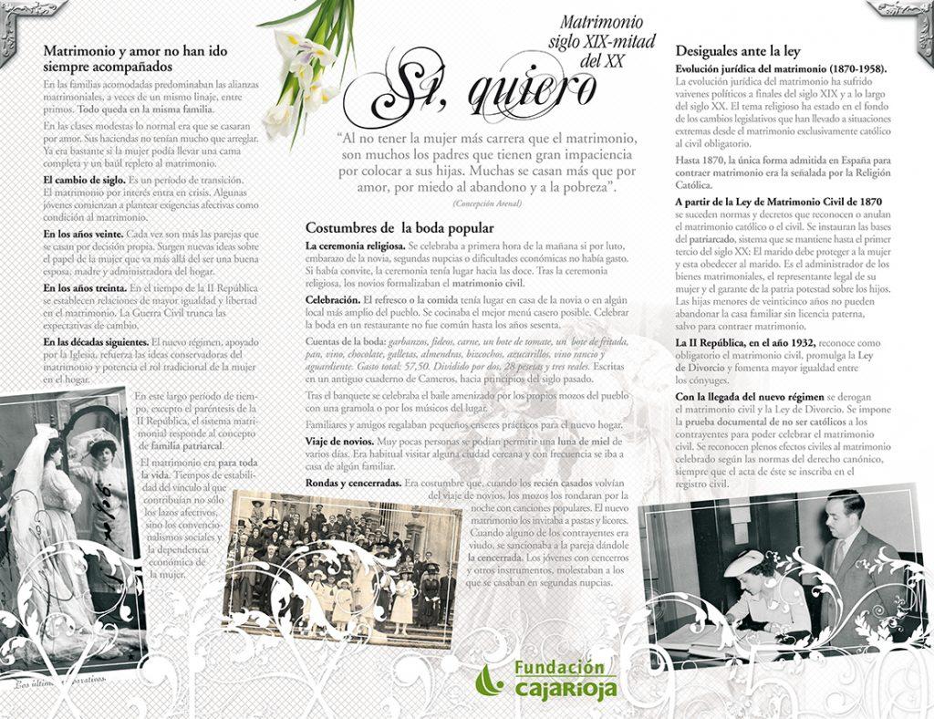 """Diseño paneles de apoyo informativo a los elementos expositivos de la muestra """"Blanca y Radiante"""", organizada por la Fundación Caja Rioja, siguiendo la gráfica establecida por la Directora de Arte de Nueva Imagen Comunicación Integral en el cartel para la exposición. Tamaño 130x100 cm. Logroño, La Rioja. 2008."""