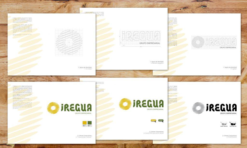 Manual corporativo y de aplicación de la nueva imagen del Grupo Empresarial Iregua